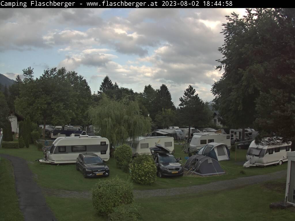 WEBkamera Hermagor - Obervellach, Camping Flaschberger